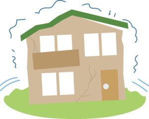 地震保険の加入は必要か 揺れる家